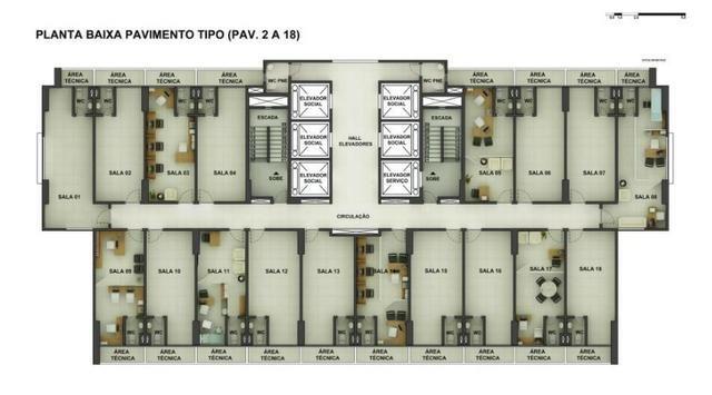 Sala Comercial 28,20m² com vaga no ITC Rio Mar - Foto 17