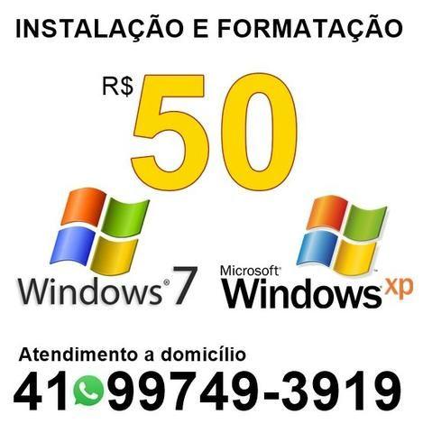 Formatação Windows XP e 7