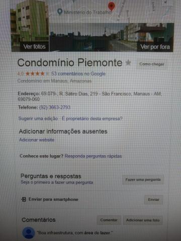 Aluga-se apartamento no Aleixo - Prx Just Federal e Forum Henoch Reis