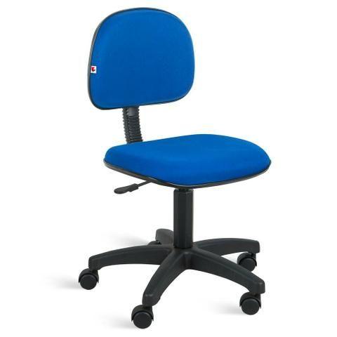 Cadeira secretária giratória sem braço