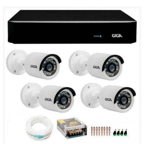 Vendo câmeras de segurança já instaladas