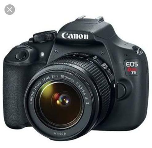 Câmera canon t5 + 18-55