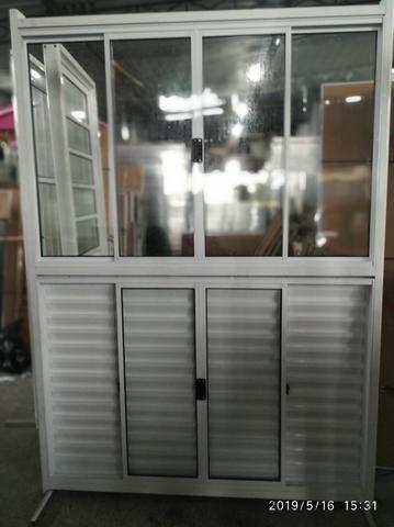 Portas, janelas, porta Balcão esquadrias em alumínio - Foto 6