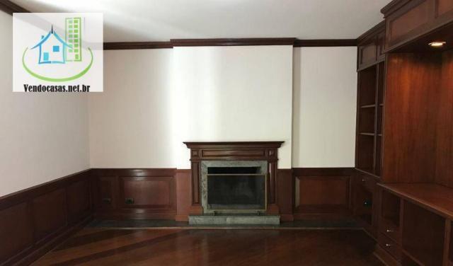 Apartamento com 5 dormitórios para alugar, 541 m² por r$ 23.000/mês - santo amaro - são pa - Foto 2