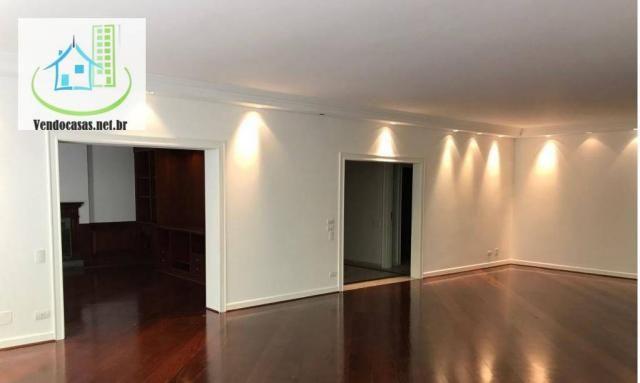 Apartamento com 5 dormitórios para alugar, 541 m² por r$ 23.000/mês - santo amaro - são pa