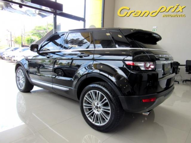 EVOQUE 2012 2.0 PRESTIGE 4WD 16V GASOLINA 4P AUTOMÁTICA PRETA COMPLETA + TETO SOLAR! - Foto 18
