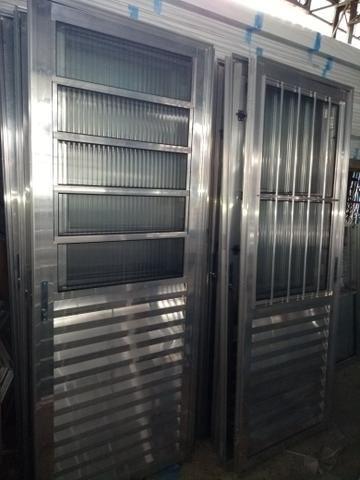 Portas, janelas, porta Balcão esquadrias em alumínio - Foto 2
