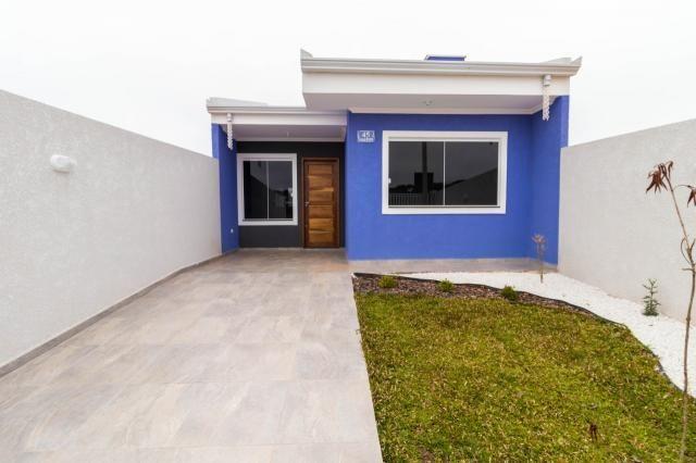 Casa à venda, 3 quartos, 1 vaga, gralha azul - fazenda rio grande/pr