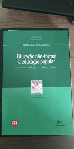 Livro Educação não formal e educação popular