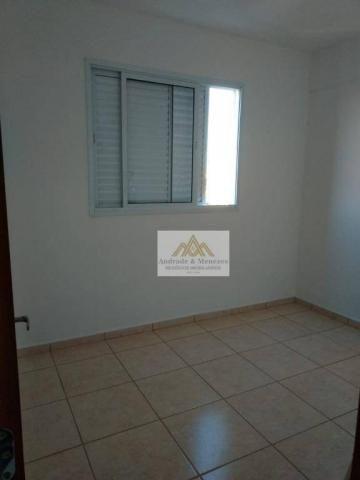 Apartamento com 2 dormitórios para alugar, 50 m² por r$ 850/mês - ipiranga - ribeirão pret - Foto 9