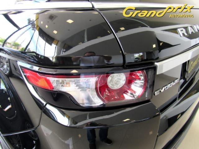 EVOQUE 2012 2.0 PRESTIGE 4WD 16V GASOLINA 4P AUTOMÁTICA PRETA COMPLETA + TETO SOLAR! - Foto 19