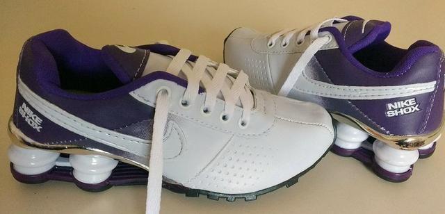 a192c1a5a662f Tênis Nike Shox Feminino - Número 34/35 - Novos - Promoção - Roupas ...