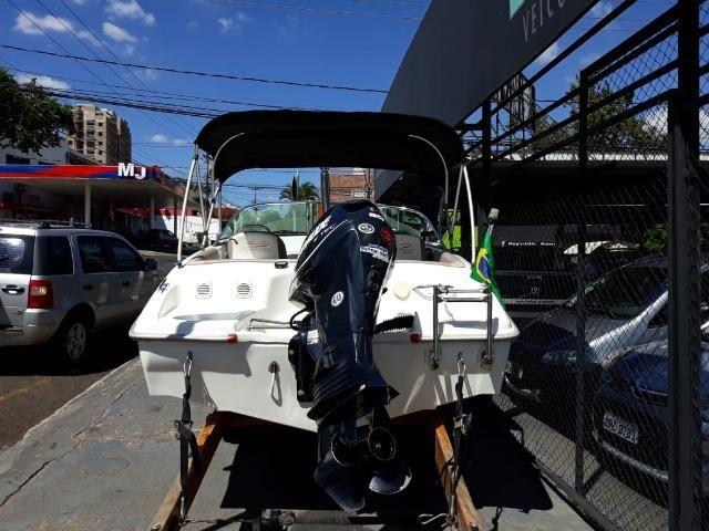 Lancha Atlantic Boat 16 Pés Motor 60Hp - Foto 16
