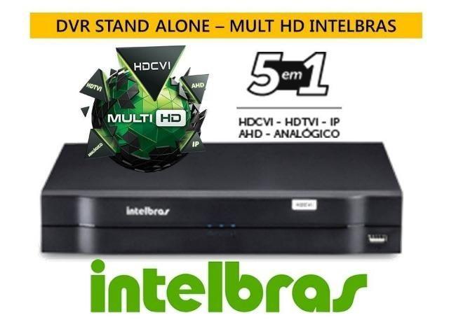 Dvr Stand Alone mhdx Intelbras 16 canais 1116 Tríbrido 5 Em 1