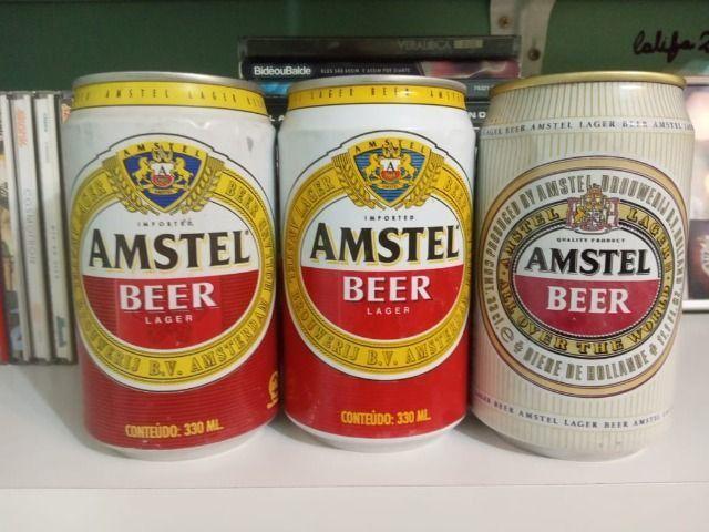 Lote Coleção de Latas Cervejas Importadas Holanda Anos 90 - Foto 2