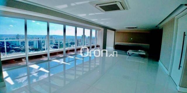 Cobertura com 5 dormitórios à venda, 467 m² por R$ 3.290.000,00 - Setor Bueno - Goiânia/GO