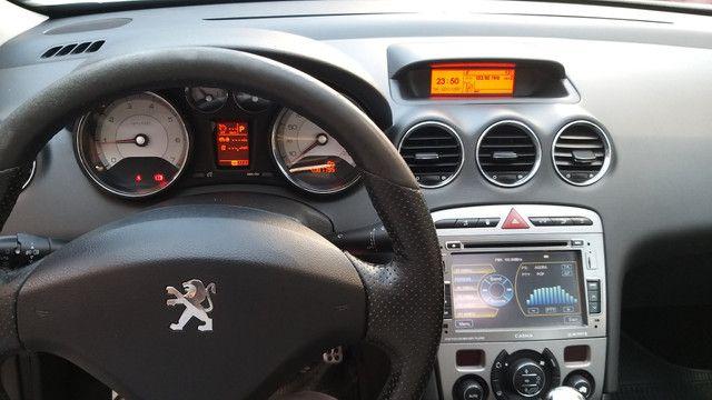 Peugeot 408 Feline 2012 com teto - Foto 4