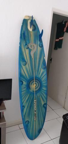 Prancha de surf excelente semi-nova - Foto 2