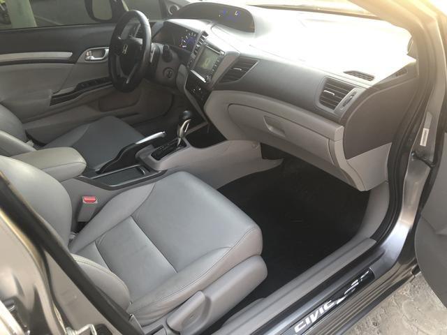 Honda Civic 1.8 EXS 2013 Automático - Foto 14
