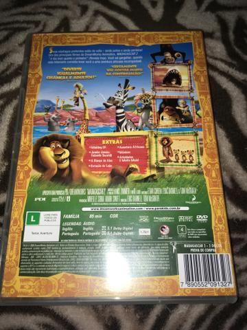 Dvd Madagascar 2 edição de colecionador - Foto 2