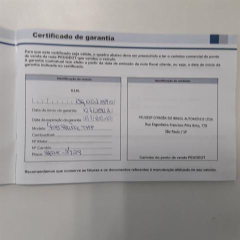 408 2017/2018 1.6 ROLAND GARROS THP 16V FLEX 4P AUTOMÁTICO - Foto 13