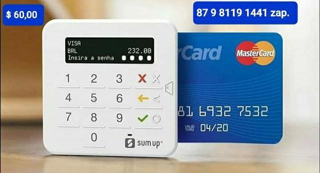 Maquineta de cartão sumup top a pronta entrega somente para a cidade de Garanhuns. - Foto 4