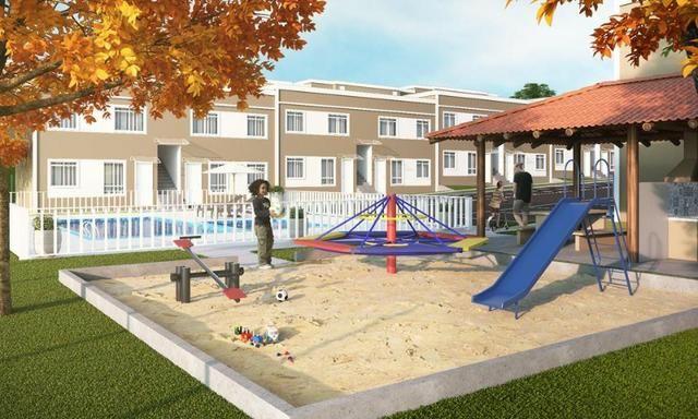 ;) Casas Sobrepostas com Garden em Condomínio Clube.