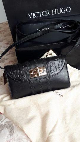 Bolsa Victor Hugo original nova (na caixa) - modelo VDuomo Black