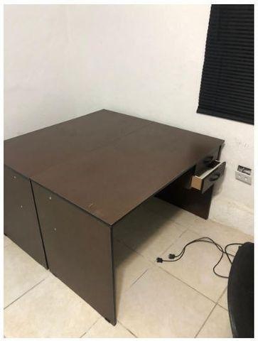 Mesas Tipo Estação de Atendimento - Perfeita para o Home Office