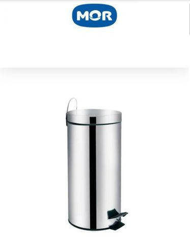Lixeira em inox 30 litros - Mor