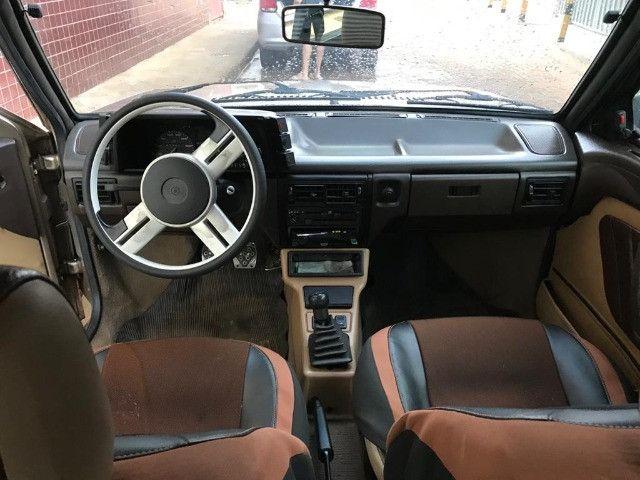 Volkswagen gol GL motor 1.8 cor bege ano 1991 muito conservado. - Foto 3