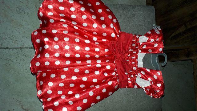 Maravilhosos Vestido da Minnie - Foto 5