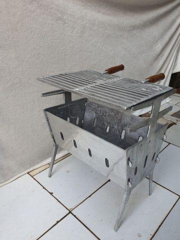 Churrasqueira desmontável a partir de 100 reais  - Foto 4