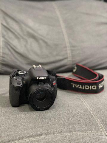Câmera Canon T3i + Lente 50mm