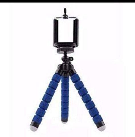 Tripé Articulado Flexível Para Celulares e Câmeras Digitais - Foto 3