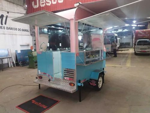 Trailler Kombi Food Truck Corujinha (sob Encomenda)<br><br> - Foto 4