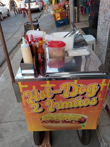 Carrinho de cachorro Pra hoje aceito cartão de crédito avista  - Foto 2