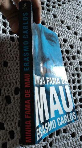 Livro Erasmo Carlos Minha Fama de Mau - Foto 3