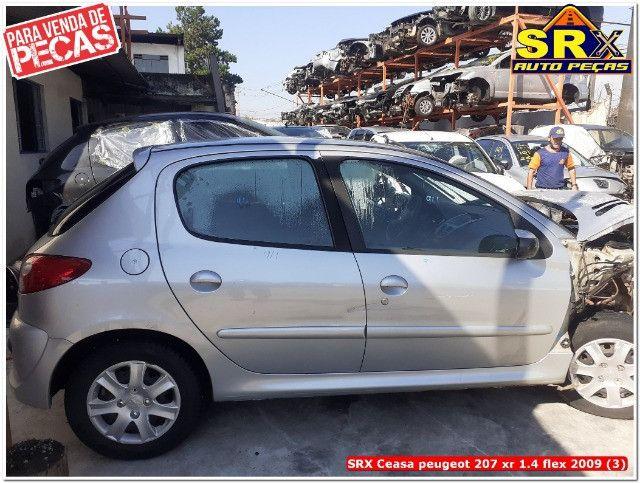 Sucata Peugeot 207 xr 1.4 flex 2009  - Foto 2