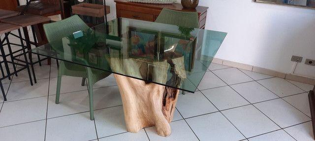Mesa de tronco  - Foto 5