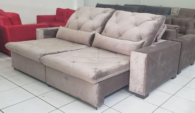 Sofá retrátil e reclinável sob medidas valores abaixo no texto  - Foto 2