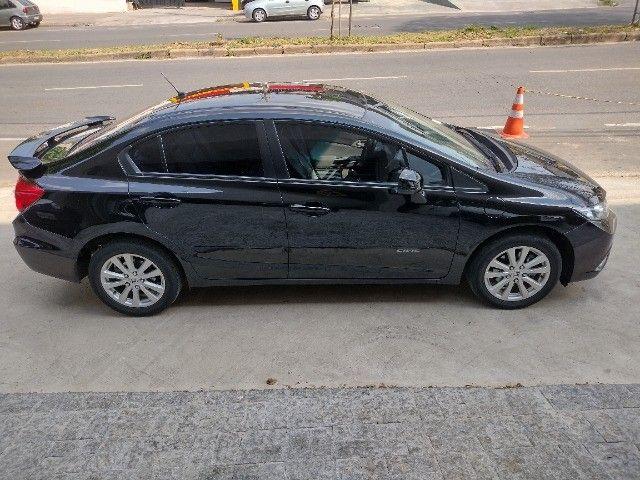 Honda Civic lxs 1.8 automatico 2014 - Foto 7
