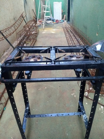 Fogão Industrial Alta Pressão - Usado - Foto 2