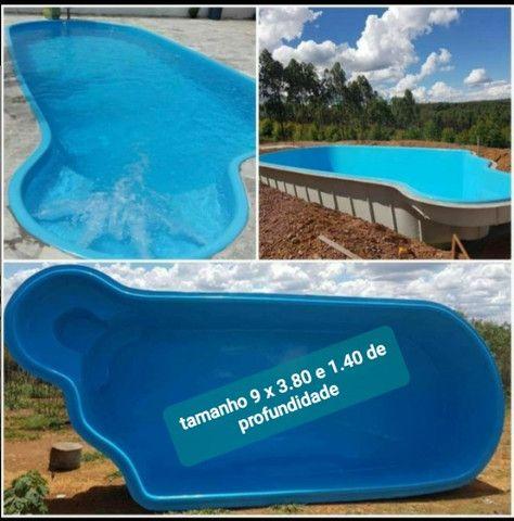 piscinas de fibra tamanho 9 x 3.80 - Foto 2