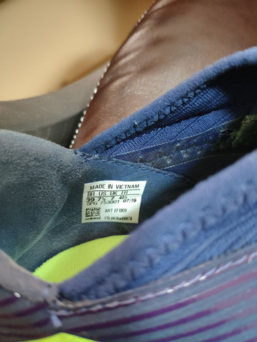 Chuteira Society Adidas Nemeziz Messi 19.3 TF  + caneleira Adidas - Foto 3