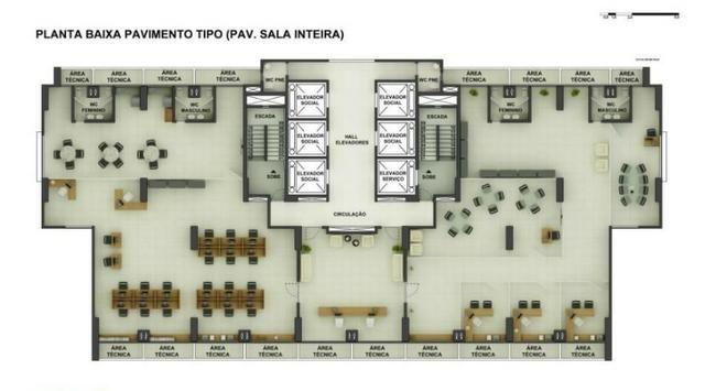 Sala Comercial 28,20m² com vaga no ITC Rio Mar - Foto 13