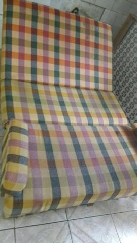 Sofá cama dois lugares USADO