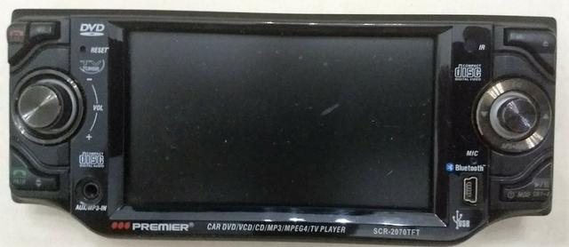 DVD Veicular Premier 1200w PMPO (Aparelho com defeito) - Manaus AM