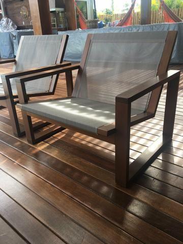 Cadeira para area externa/interna