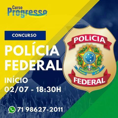 Curso polícia federal